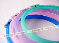 Wholesale 18cm frosted embroidery hoops high quality embroidery frame