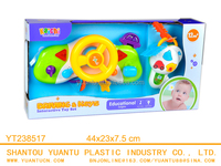 Baby drive station Steering wheel Baby music toy