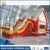 2017 hot Christmas Inflatables House Xmas,Holiday Inflatable Santa Clause House