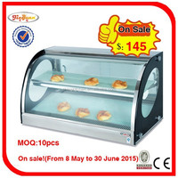 On Sale! Hot Sale! Electric table top Food Warmer Showcase HT-900 TEL:0086-13632272289