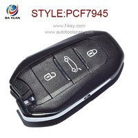 Best selling car key for Citroen DS Peugeot 508 with 434mhz 3 button auto remote key AK016011
