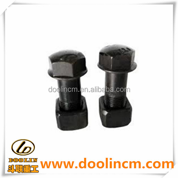 Excavator Bulldozer Undercarriage Parts Track Shoe Bolts and Nuts