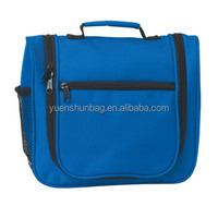Travel hanging toiletry bag for foldable