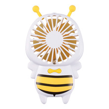 2018 New Product KC Certificated Cute Baby Bee USB Fan Mini slim Bee Fan with Lanyard