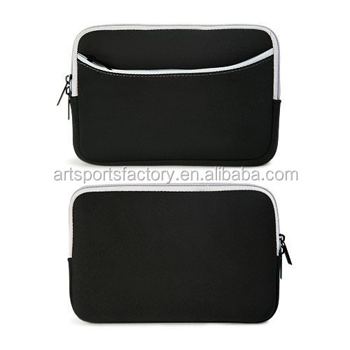 factory price neoprene tablet zippered pouch carrying case