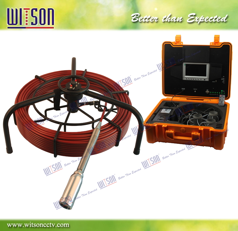 WITSON Handheld Underwater Pipeline Inspection Camera with 60m Cable
