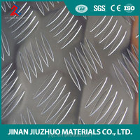 5052 diamond aluminum sheet for trailer fenders