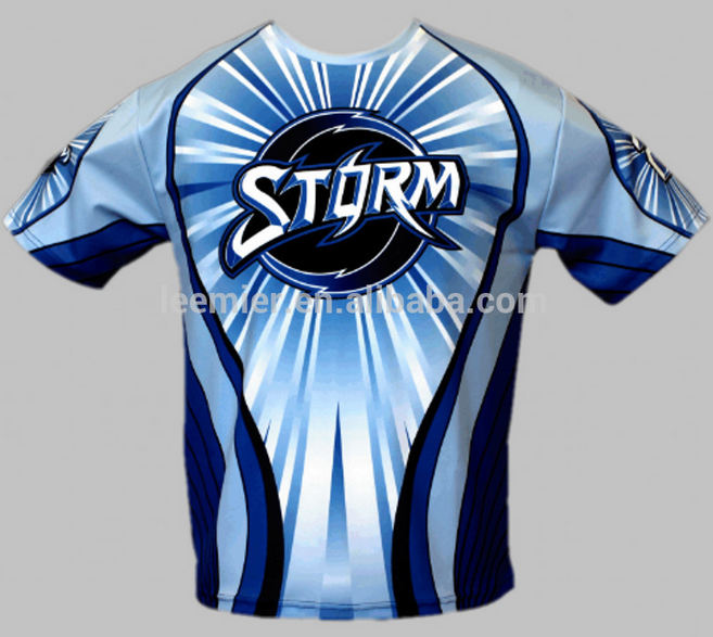 Custom Made Full Sublimation Printing baseball Tee