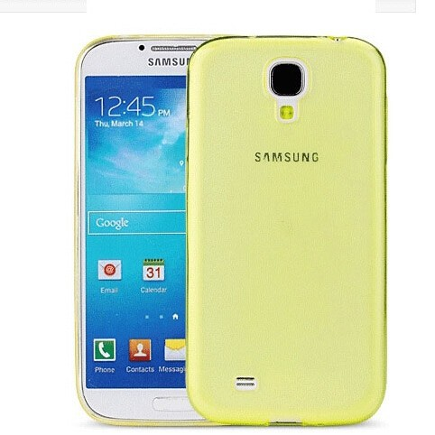 Slim Fit Grip Gel Silicone TPU Case Cover For Samsung Galaxy S4 S IV I9500