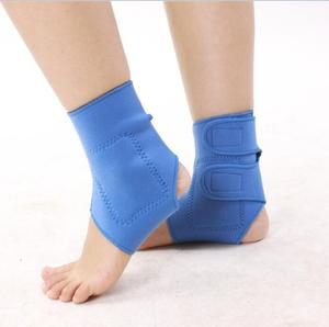 free sample Neoprene Ankle Support Brace Fully Adjustable Open Heel Wrap Around Stabilizer Straps For Maximum Support
