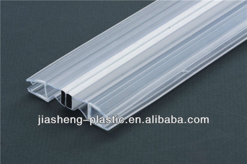 plastic weather strip high qualithy,certified by ISO9000,ROSH
