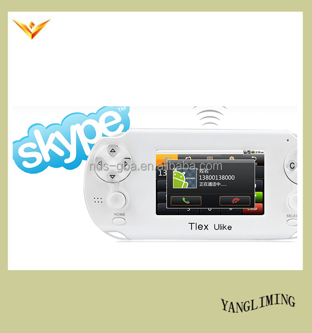 3.5'' android system Tlex Ulike video games player support Skype QQ