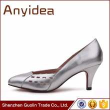 Women's fashion laser cutting high-end women shoes with office ladies shoes