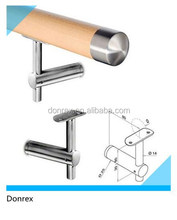 Hot-sell stainless steel wooden railing wall mounting bracket