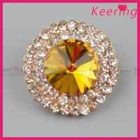Keering high end rhinestone fancy buttons wholesale