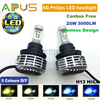 3000LM 3000K/4300K/6500K/8000K/10000K H13 car led headlight