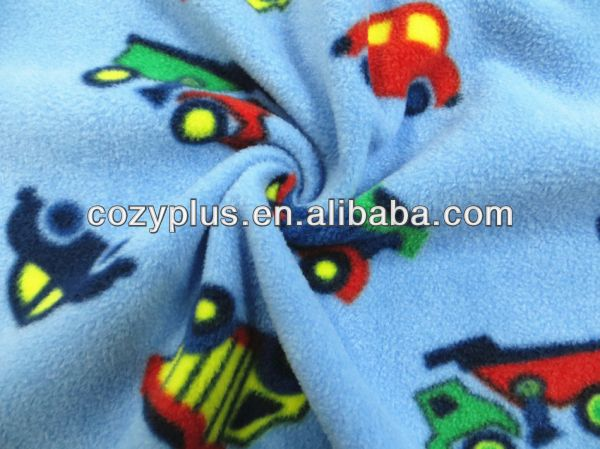 2013 China Factory wholesale 100% Polyester Fabric FDY Polar Fleece baby gap