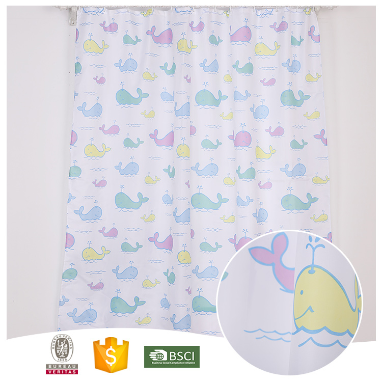 Most Popular Useful Colorful snoopy shower curtain