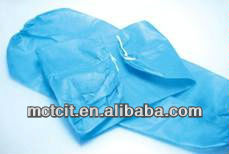 Disposable blue anti-dust/oil proof PP non-woven sleeve cover/oversleeve for cooking