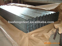 corrugated gi galvanized sheet/roofing steel sheet