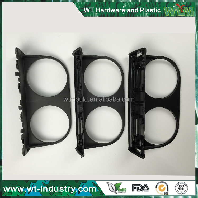 Plastic Injection Moulded Auto Cup Holder Parts By Shenzhen Mold Company