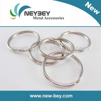 Cheap Bulk Metal Keychains/Keyrings MKG in 25mm as Keychain Parts