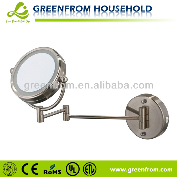 6 inch double sides foldable zinc alloy cosmetics mirror
