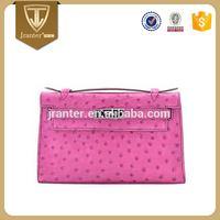 Custom Mini Exotic Bag High Quality Ladies Genuine Ostrich Leather Handbags