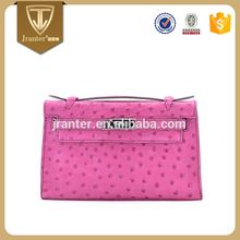 Custom Mini Exotic Bag High Quality Ladies Genuine Ostrich Leather Handbags