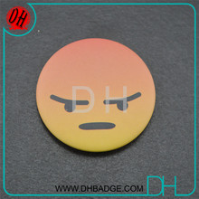 Factory price Tin material button badge for suit decration
