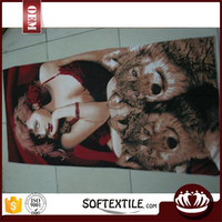 china supplier sex high-quality custom made beach towels