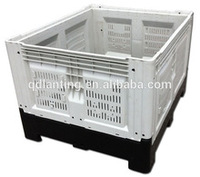 Folding plastic box with lock and key/small and clear plastic boxes