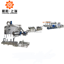 Potato starch 3D snack pellets food making machine production line