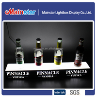 Led bottle glorifier display
