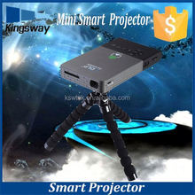 White C02 mini projector pico mobile phone projector android projector