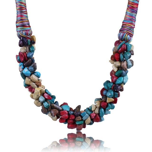 SS2033 Barlaycs 2017 new fashion Luxury necklace Turquoise statement women accessories necklace