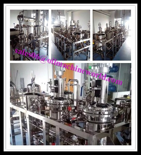 Small Scale Rice bran Oil Refining Equipment