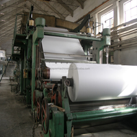 Profitable projects 5-8T/D waste paper/rice straw recycling to a4 office paper/newspaper making machinery
