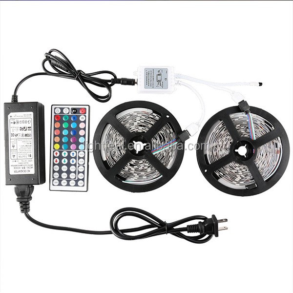5050 2.5M/Roll 120D/M 44 Keys Remote Controller USB Powered LED Strip