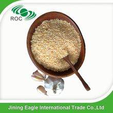 Dehydrated 8-16 mesh dry minced garlic granules hot sale