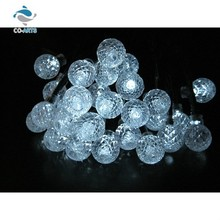 Professional design unique ball decoration bling christmas light string