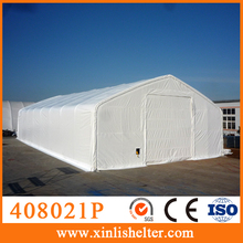 408021P Used fabric buildings, canvas tent for farm storage