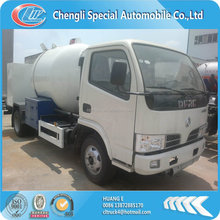 Dongfeng small 5m3 portable lpg filling truck