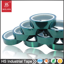 Powder Coating High Temperature Masking Use Green PET Protection Tape