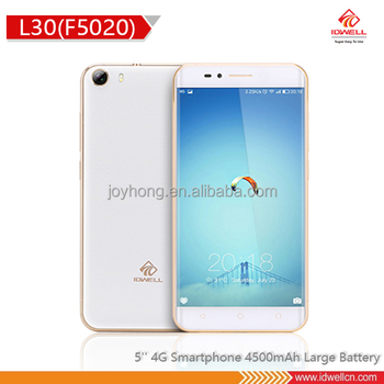 5 Inch big battery 4500 mAh mobile phone
