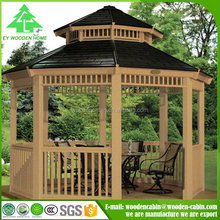 Hot new products for 2016 durable wooden garden outdoor gazebo / gazebo customized