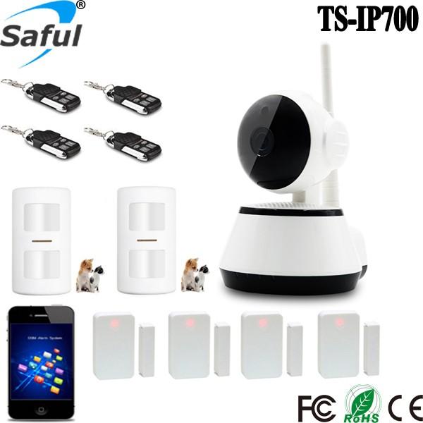 2016 Newest TS-IP700 2CU P2P Tech IP Camera 720P ONVIF 2.0 USB Connector WIFI Alarm System