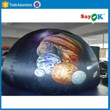 mini planetarium dome projection used air inflatable planetarium dome tent