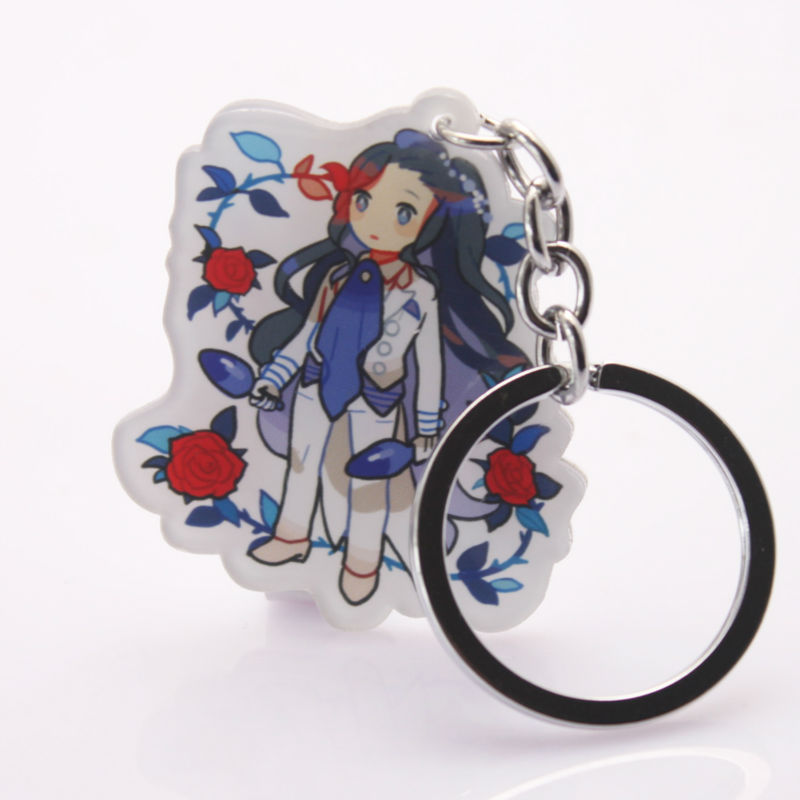2015 New Arrival Customized printing fashion Anime Souvenir acrylic keychain