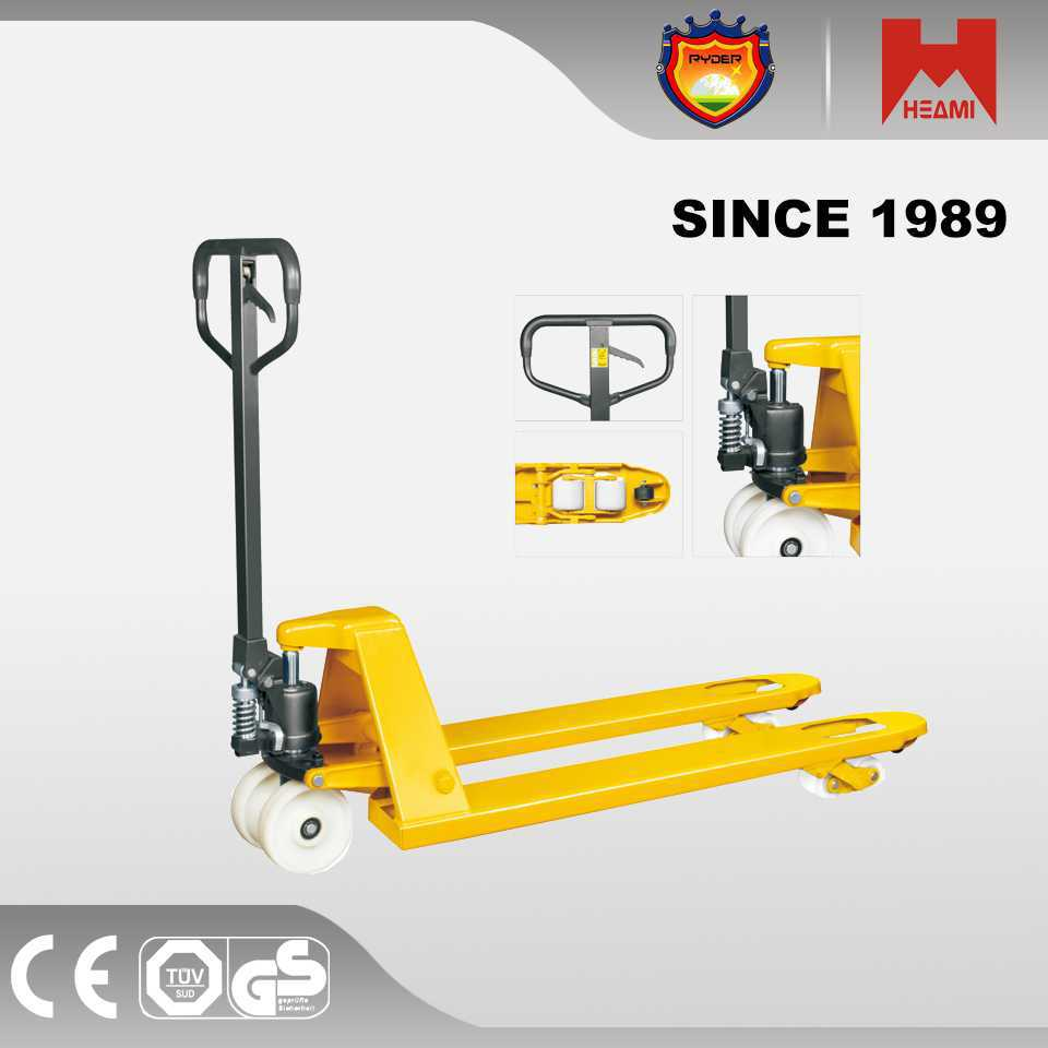 hydraulic pump hand pallet truck mini cart wheels and axles